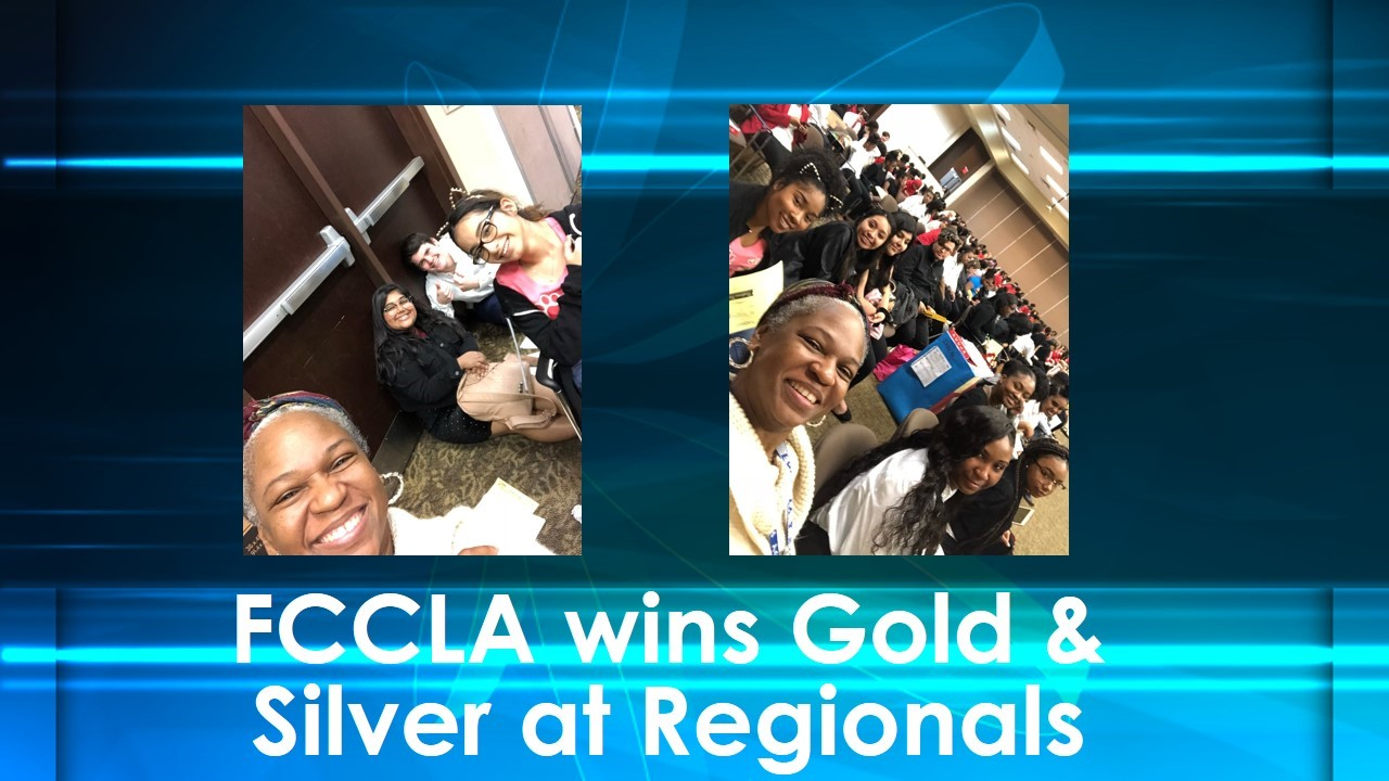 [image: FCCLA wins gold & silver at Regionals]