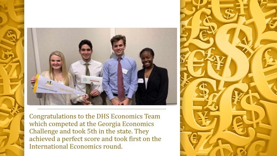 [image: Econ Team 5th at State]